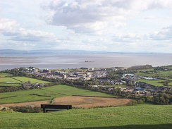 Morecambe Bay from Ulverston