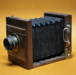 A wet plate camera made in 1866.