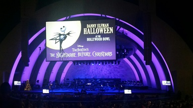 Elfman's The Nightmare Before Christmas live at the Hollywood Bowl.