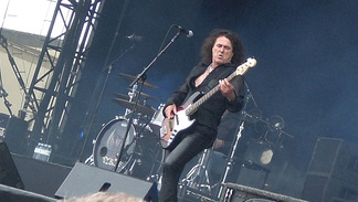 Phil Kennemore at Hellfest in France, 2010.