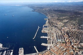 The port of Trieste