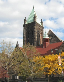 St Martin's Episcopal Church, at Lenox Avenue and 122nd Street
