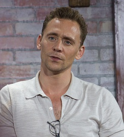 Hiddleston at the Nerd HQ in July 2016.