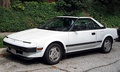 Toyota MR2, Japan's first mid-engined production car.