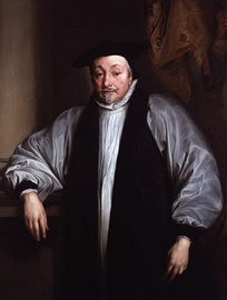 Archbishop Laud; like many Puritans, Brereton strongly opposed his reforms to the Church of England