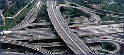 Mostar interchange with E-75 Expressway opened in 1974.