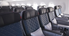 Delta Premium Select on an Airbus A350-900