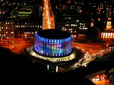London IMAX has the largest cinema screen in Britain with a total screen size of 520m².[36]