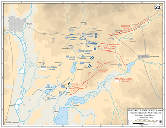 The decisive attacks on the Allied centre by St. Hilaire and Vandamme split the Allied army in two and left the French in a golden strategic position to win the battle.