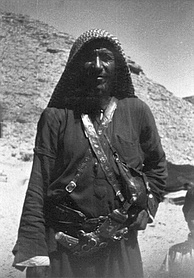 Bedouin man in Riyadh, 1964.