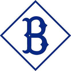 Logo of the Brooklyn Dodgers/Superbas from 1910 through 1913