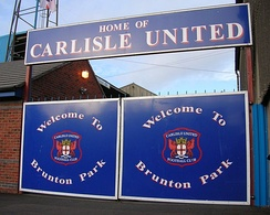 Brunton Park, the home of Carlisle United