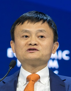 Jack Ma, founder and Executive Chairman of the Alibaba Group