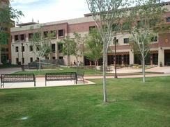 UTEP's College of Engineering building