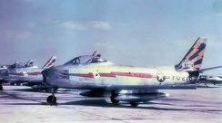 North American F-86A-5-NA Sabre Serial 48-0276 of the 116th Fighter-Interceptor Squadron, 1951.
