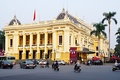Hanoi Opera House modeled on the Palais Garnier in Paris