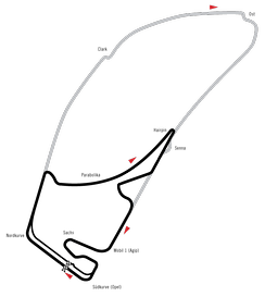 Current track compared to previous track
