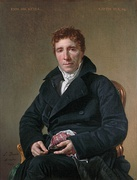 Jacques-Louis David, Emmanuel Joseph Sieyès, 1817