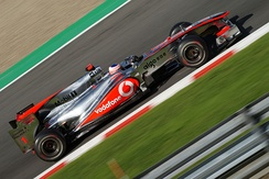 Reigning World Champion Jenson Button scored his first victory for McLaren in Australia.