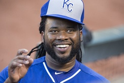 Johnny Cueto was the winning pitcher in Game 2, pitching a complete game