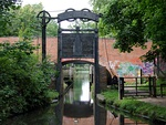 Kings Norton Guillotine Stop Lock East of Junction of Stratford on Avon Canal with the Worcester and Birmingham Canal