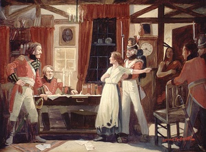 Loyalist Laura Secord warns British of an impending American attack at Beaver Dams