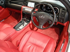 Interior, 2005–2010 Lexus SC 430 (Japan)