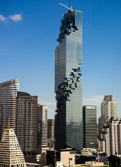 The MahaNakhon skyscraper in Bangkok