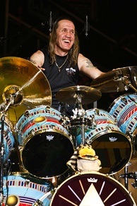 Nicko McBrain has been Iron Maiden's drummer since 1982
