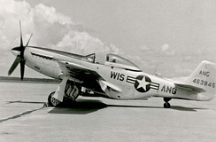 128th FIG North American F-51D-20-NA Mustang 44-64159, about 1949