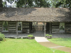 Pioneer Village in Beauford H. Jester Park in Corsicana.