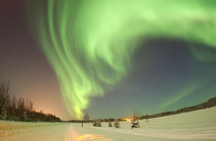 Some Inuit believed that the spirits of their ancestors could be seen in the aurora borealis