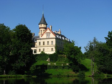 Raduň Castle, Czech Republic (owned by the Blücher family 1832-1945)