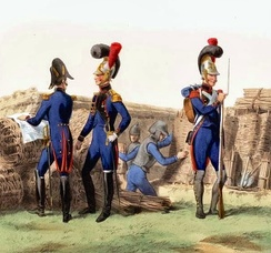 French Imperial Guard sappers, 1810