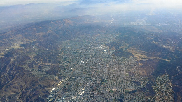 Suburban development in Simi Valley
