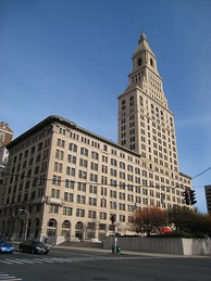 Travelers Tower in Downtown Hartford