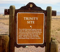 Trinity Site Historical Marker, 2008