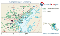 United States House of Representatives, Maryland District 2 map.png