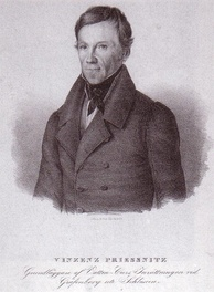 Vincenz Priessnitz, who initiated the popular revival of hydrotherapy at Gräfenberg