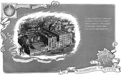 1888 Westinghouse brochure advertising their Alternating system