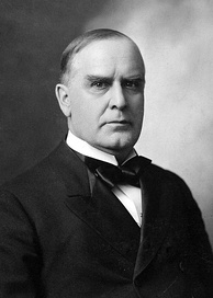 Hay supported William McKinley in the 1896 presidential election.