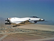 X-31 Quasi-Tailless (without fin and rudder). Artist Concept
