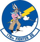 Legacy 176th Fighter Squadron Emblem