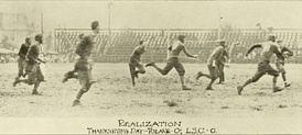 The 13th Battle for the Flag, a 0–0 tie in New Orleans on November 26, 1914.