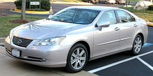 Identical platform 2007 model year 4-door sedans: Toyota Camry and Lexus ES[1]