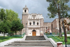 Monastery of San Francisco in Pachuca