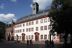The Heidelberg University, established in 1386, is a German university of excellence.