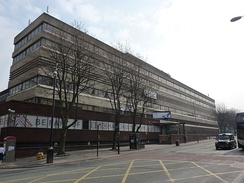 BBC New Broadcasting House, Oxford Road, home of Radio Manchester 1975-2011