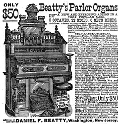 Beatty's Parlor Organ, 1882