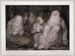 Job's Tormentors' from William Blake's Illustrations for the Book of Job.